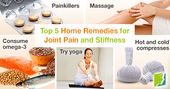 Top 5 Home Remedies for Joint Pain and Stiffness