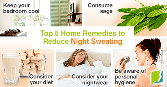 Top 5 Home Remedies to Reduce Night Sweating