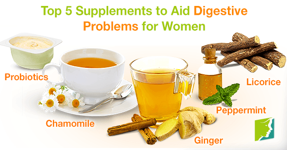 Top 5 Supplements to Aid Digestive Problems for Women