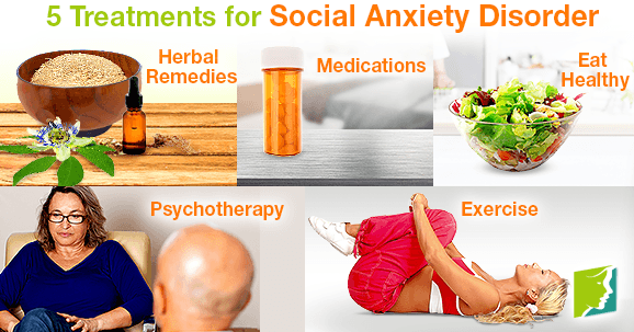 Top 5 Treatments for Social Anxiety Disorder