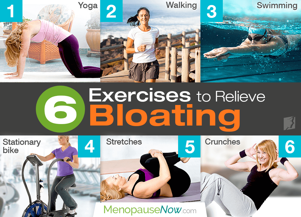 Exercises to relieve bloating