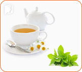 Chamomile helps muscle spasms.