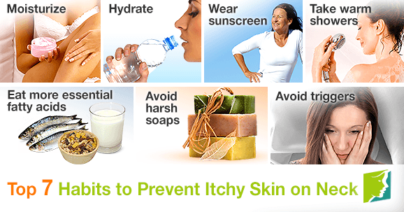 Top 7 Habits to Prevent Itchy Skin on Neck