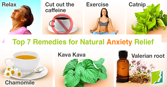 Top 7 Remedies for Natural Anxiety Relief