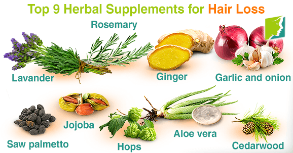 Top 9 Herbal Supplements for Hair Loss