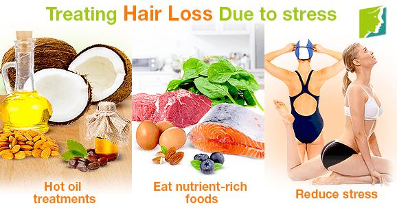 Treating Hair Loss Due to Stress