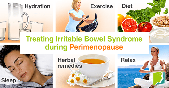 Treating irritable bowel syndrome during perimenopause