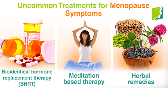 menopause symptoms remedies