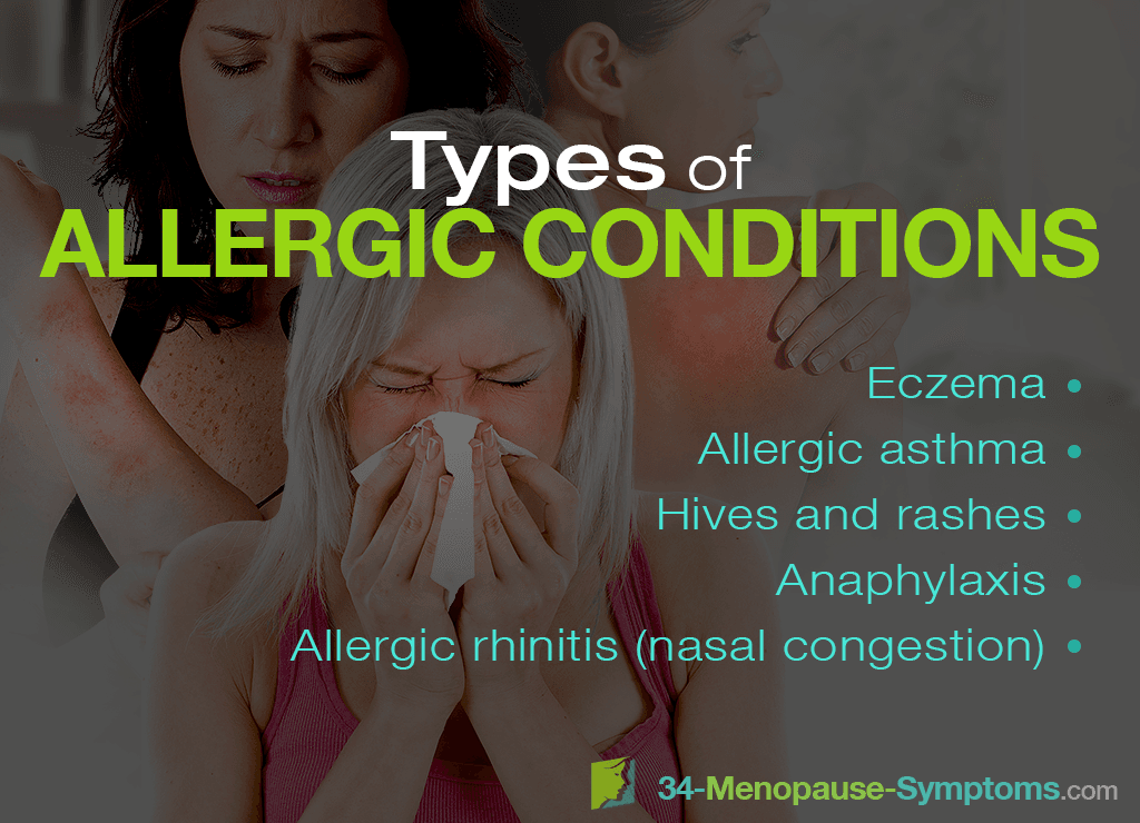 Types of  Allergic Conditions