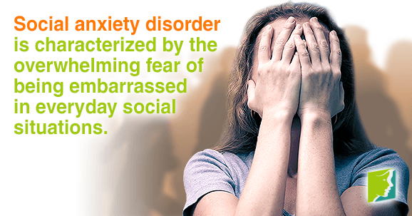 Social anxiety disorder is most likely caused environmental factors