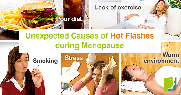 Unexpected Causes of Hot Flashes during Menopause