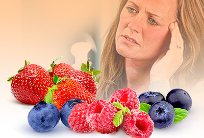 Using Berries to Treat Hot Flashes during Menopause