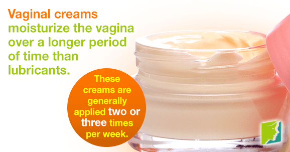 Vaginal creams improve the overall health
