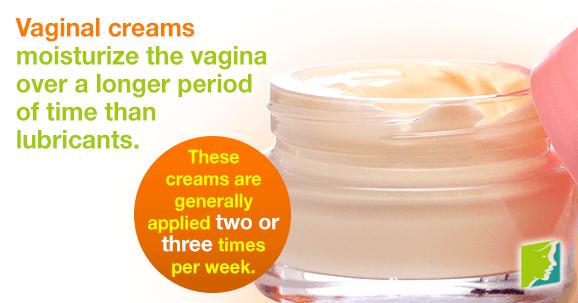 Vaginal creams improve the overall health