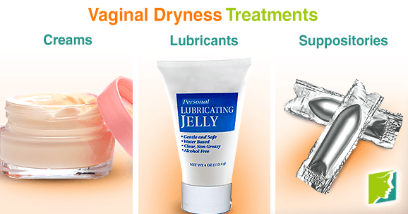 Vaginal dryness treatments