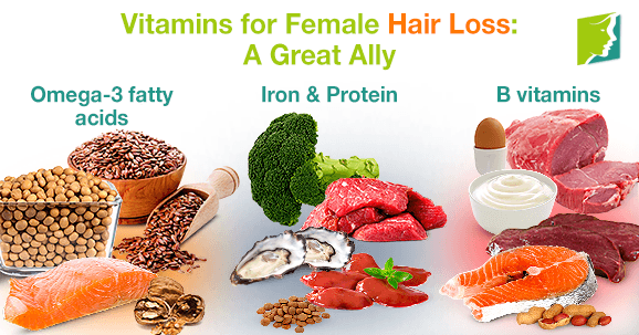 Vitamins for Women Hair Loss: a Great Ally
