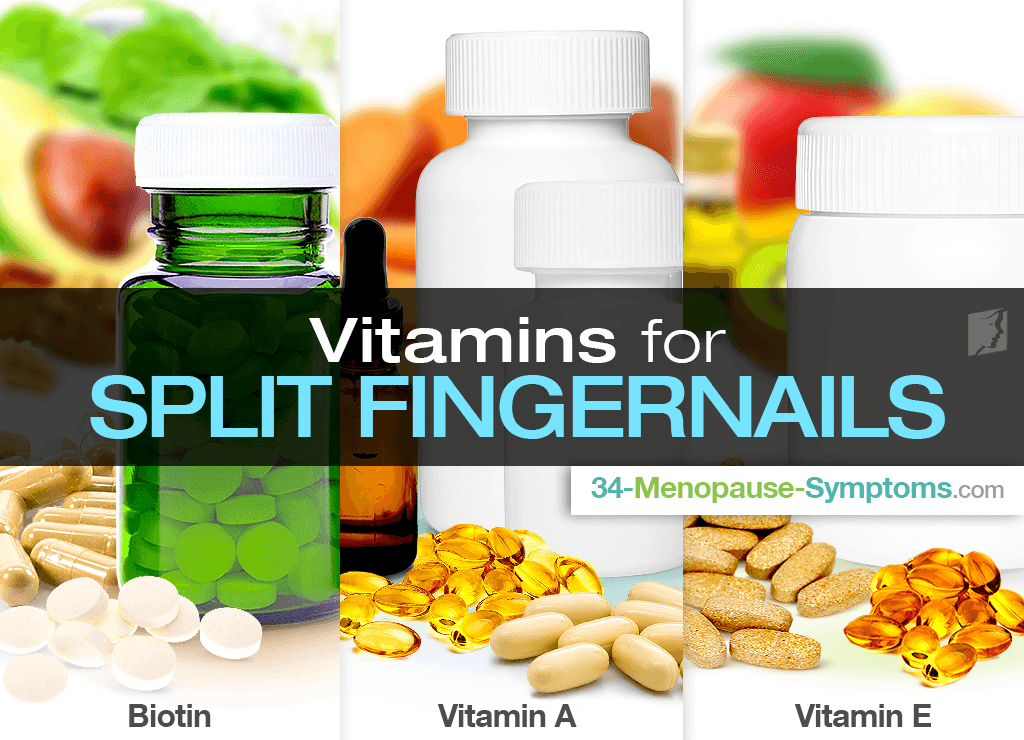 Vitamins and Remedies for Split Fingernails | Menopause Now