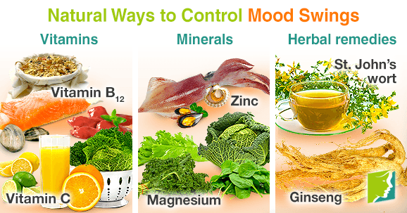 Natural Ways to Control Mood Swings