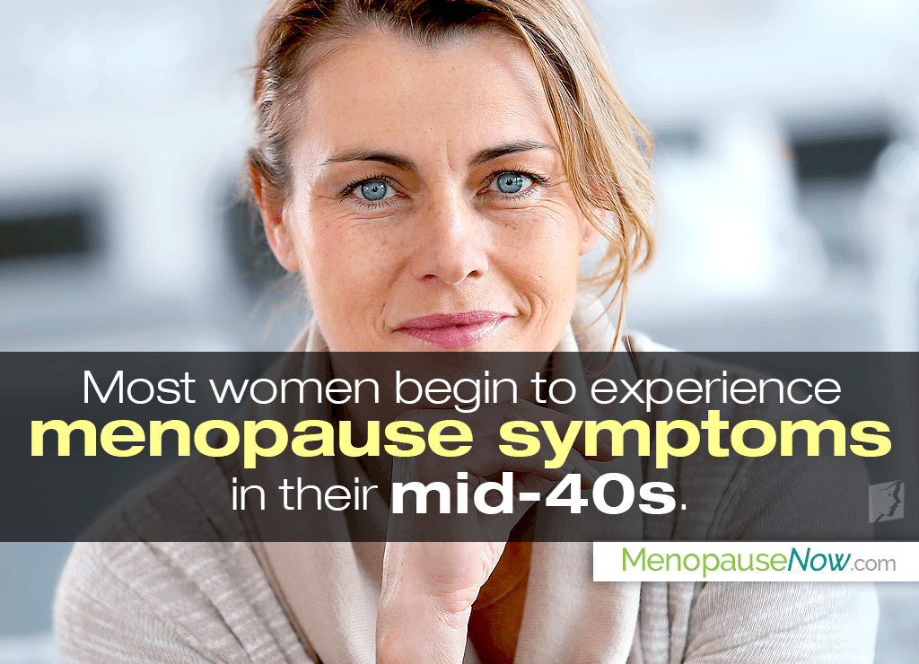 What Age Do Women Start to Get Menopause Symptoms?