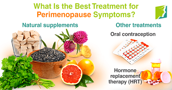 What Is the Best Treatment for Perimenopause Symptoms?