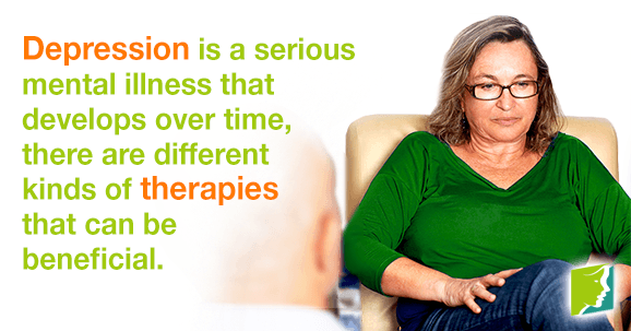 What Kind of Depression Therapies Are There?