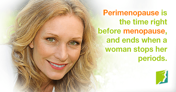 When does perimenopause end