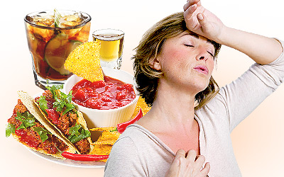 Why Do I Have Hot Flashes After I Eat?