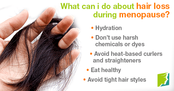 What can i do about hair loss during menopause?